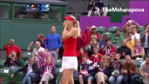 Maria Sharapova vs Kim Clijsters London 2012 Highlights