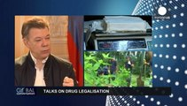 Juan Manuel Santos : ''je veux mettre un terme définif au conflit avec les FARC''