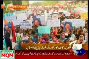 Protests all over Pakistan demanding recovery of MQM workers that are in illegal custody of LEAs