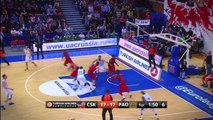 Playoffs Magic Moments: Block & Dunk by Victor Khryapa, CSKA Moscow