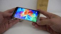 Samsung Galaxy S5 Gold im Hands On [Deutsch]