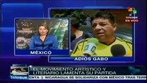 México prepara homenaje póstumo para Gabo en Palacio de Bellas Artes