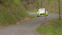 Cuoq mène le Rallye Lyon Charbonnières - Rhône devant Baud et Salanon