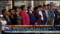 Venezuela celebra 204 años del inicio del proceso independentista