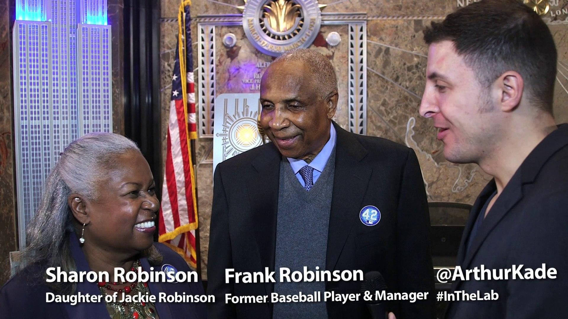 Frank Robinson & Jackie Robinson's Daughter Sharon Robinson