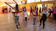 Lomme : la  suite du cours avec Silvia, de Danse avec les stars