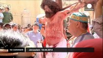 Jerusalem: Hundreds gather for Easter service amid heightened security