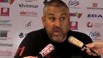 Rugby Top 14 - Christophe Urios réagit après Oyonnax - Toulouse (1ère partie)
