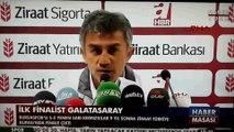 Bursaspor Teknik Sorumlusu Ümit Şengül Ziraat Türkiye Kupası yarı final rövanşı basın toplantısı