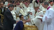 Pope Francis conducts Easter Vigil at the Vatican