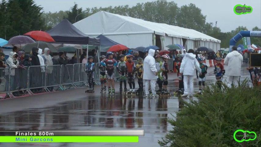 3 Pistes 2014 - Finale 800m - Mini Garçons - Valence d'Agen