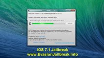 Comment Jailbreak Untethered iOS 7.1 avec Cydia installation à partir Evasion