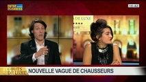 Trouver chaussure à son pied: une nouvelle vague de créateurs, dans Goûts de luxe Paris – 20/04 4/8