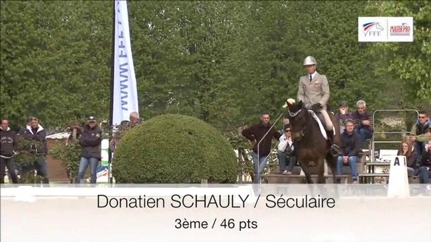 Master pro de Concours Complet - La reprise de Donatien Schauly et Séculaire