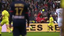 The Amazing Goal of Edinson Cavani - Olympique Lyon vs PSG - FINAL French Cup 19_04_2014