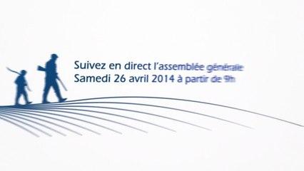 EN DIRECT - Assemblée Générale FDC85 le 26.04.2014
