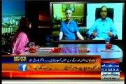 SAMAA News Beat Paras Khursheed MQM protest in Karachi with MQM Waseem Akhtar