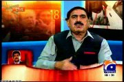 Part-2 GEO Capital talk special show attack on Hamid Mir with MQM Haider Abbas Rizvi (20 April 2014)