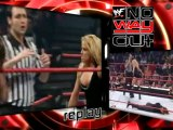 Trish Stratus vs Stephanie McMahon WWE NO WAY OUT 2001