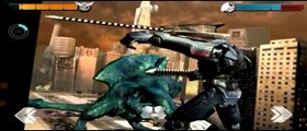 Pacific Rim Deadly Fight Upgraded Jaeger and Kaiju