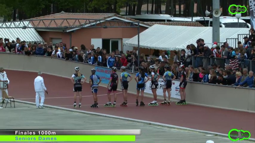3 Pistes 2014 -Gujan  Finale 1000m - Séniors Dames -