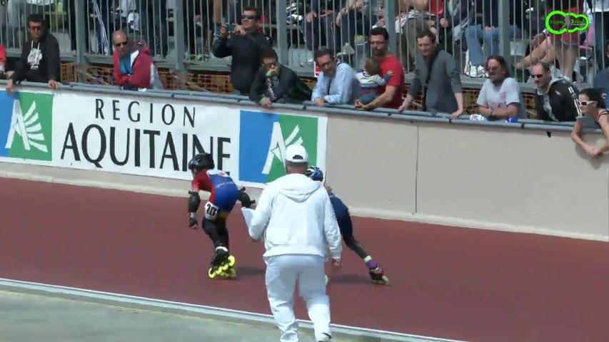 3 Pistes 2014 -Gujan  Finale 800m - Mini Garçons -