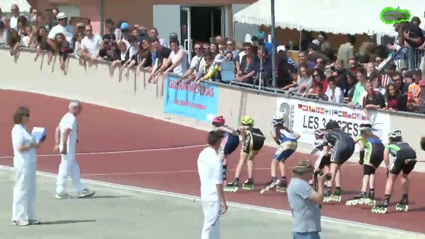 3 Pistes 2014 -Gujan  Finale 3000m - Benjamines -