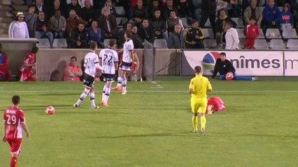 Nimes - Istres 1-0 La réaction de Frédéric Arpinon