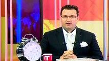 KKTC'de canlı yayında spiker yönetmen kavgası