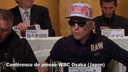 CONFERENCE DE PRESSE WBC CHAMPIONNAT DU MONDE à OSAKA (JAPON) 21/04/2014