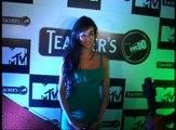 Bollywood Hot Girls Sonal Chauhan Neha Dhupia & Shazahn Padamsee at MTV Teacher's event