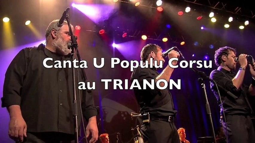 Canta U Populu Corsu Fête ses 40 ans au Trianon à Paris