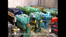"""71 Ton Used Mubea Mechanical Ironworker, Mdl. KBL - 1 1/2, 4 Station, 10-3/4"""" Shear Blade Attachment, 3"""" Pipe Notcher Attachment, Punch Attachment, Auto Lube, Foot Pedal, Assorted Punches & Dies, #A3192"""