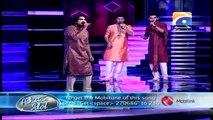 Pakistan Idol 2013-14 - Episode 39 - 05 Gala Round Top 3 (Zamaad Baig - 1st Round)
