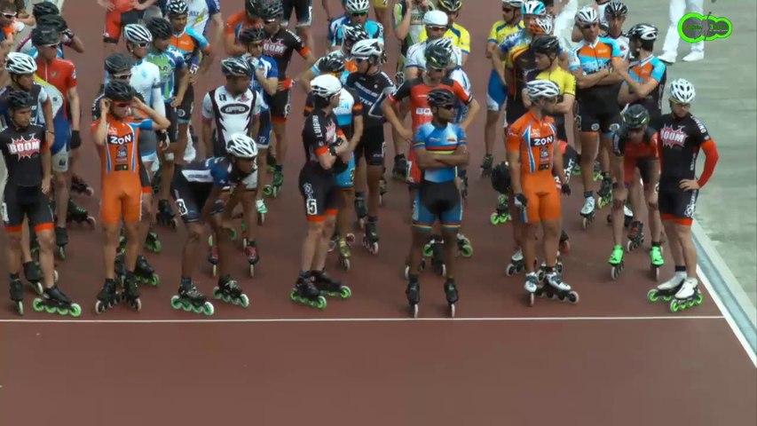 2014 Gujan  Finale du 10 km à points - seniors hommes + coulisses
