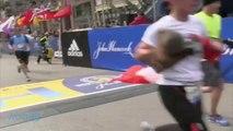 Joey McIntyre Completes The Boston Marathon
