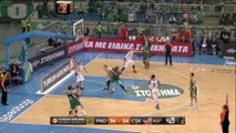 Euroleague: Panathinaikos 65-59 CSKA Moscow
