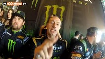 Entrevista a Vaughn Gittin Jr Ford Mustang Drift en Gymkhana Grid Final en Madrid - PRExtreme TV (HD)