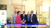 La ministre a rencontré : M. Gérard BALLY, Président d'EURODOM
