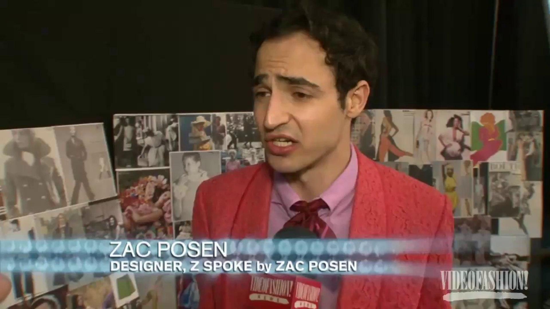 Z Spoke by Zac Posen S/S 2011- Videofashion Daily