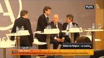 Arnaud Montebourg et Michel Sapin en visite à Lyon