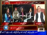 Zaid Hamid Blasted Hamid Mir and Geo in a Talk Show!