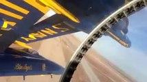 Entrainement d'acrobatie aérienne : Blue angels!