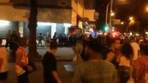 Brésil : un mort dans de violentes émeutes à Copacabana