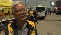 Ferry sud-coréen : une semaine après le drame, la récupération des corps continue