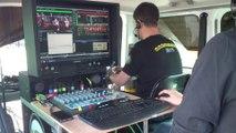 Behind the Scene ASV Tv - Installation Football américain - Corsaires vs Gladiateurs