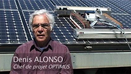 Robot Optimus nettoyeur de panneaux solaires