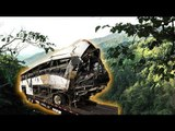Bus crash in Thai mountains killed 21 and injured 18