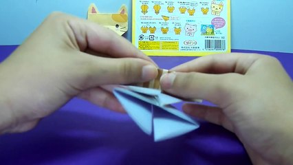 كيف تصنع قطة من الورق ؟