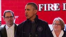 Obama a Seattle per rendere omaggio alle vittime della frana
